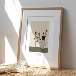 Affiche Déco Chambre Enfant Petite Brune