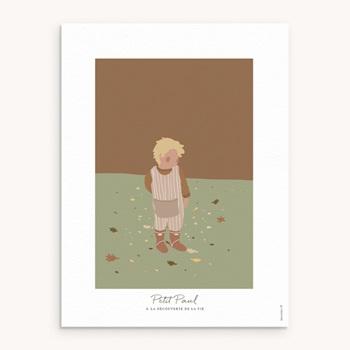 Affiche Déco Chambre Enfant - Petit blondinet - 0