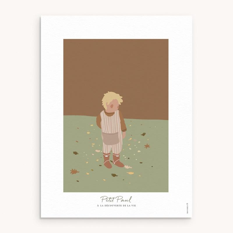Affiche Déco Chambre Enfant Petit blondinet