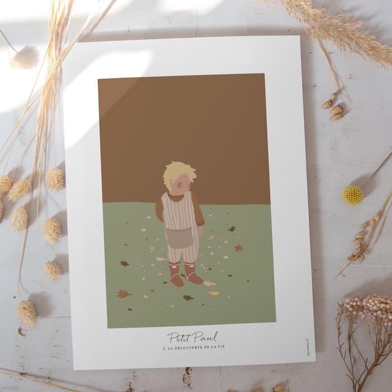 Affiche Déco Chambre Enfant Petit blondinet gratuit