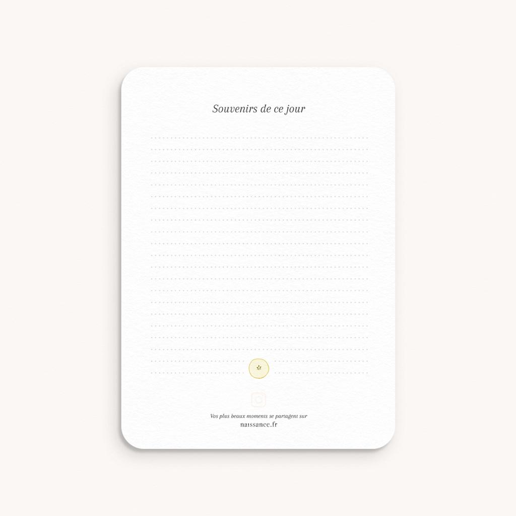 Carte Etape Couronne d'oranges & fleurs, Lot de 12 pas cher