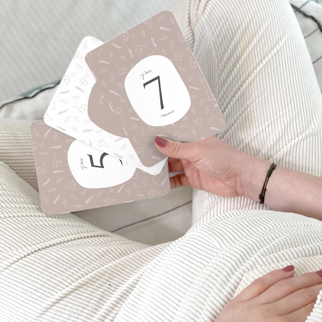 Carte Etape Champêtre Nude, 1ère année, lot de 12