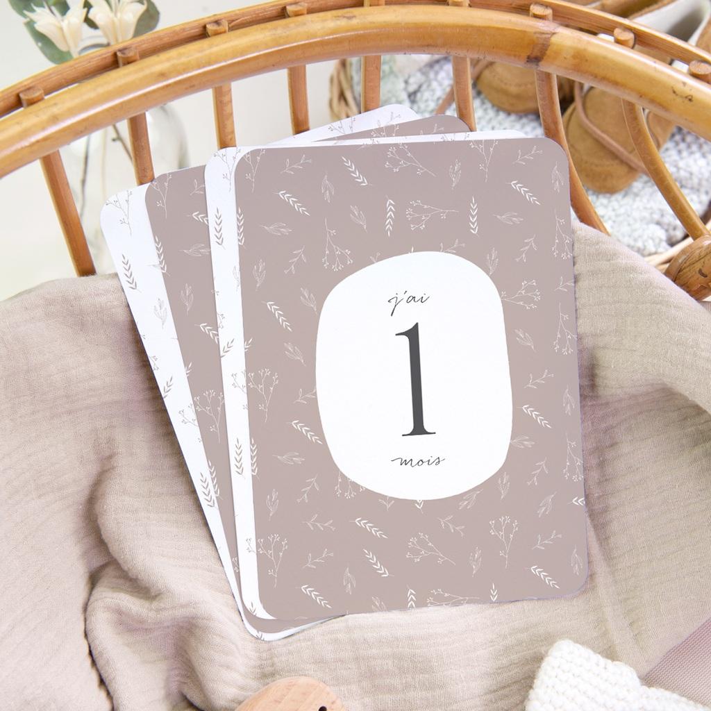Carte Etape Champêtre Nude, 1ère année, lot de 12 gratuit
