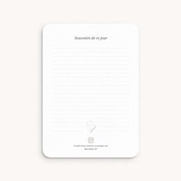 Carte Etape Champêtre Nude, 1ère année, lot de 12 pas cher