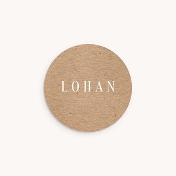 Sticker Enveloppe Naissance