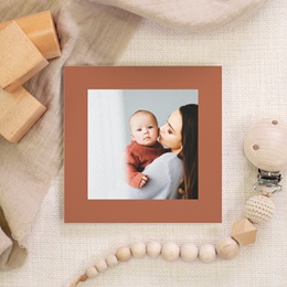 Carte de Remerciement Naissance Initiale d'une Petite Princesse, 10 x 10 cm gratuit
