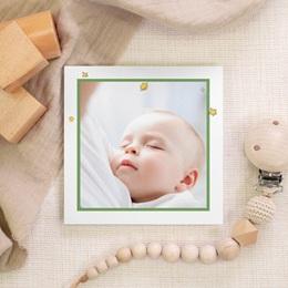 Carte de Remerciement Naissance Initiale du Renard, photo gratuit